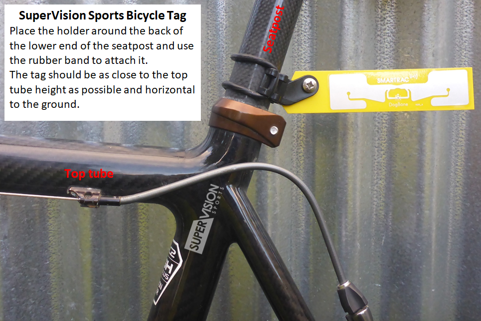 Seat Post Tag mount
