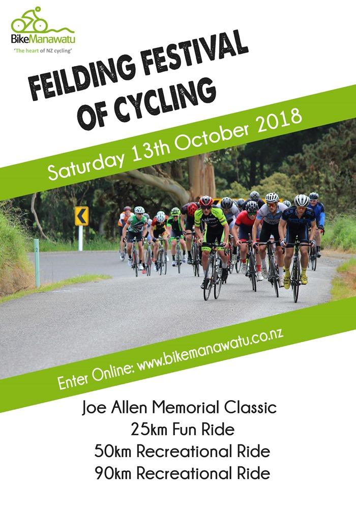 Feilding Festival of Cycling 2018 13 Oct smaller