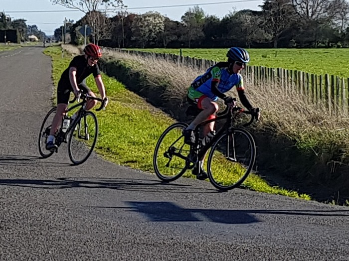 RACE 2 A1 Loops 01 Sept 2018 {Philip Wilson} turning from Tainoui rd to Reid Line East