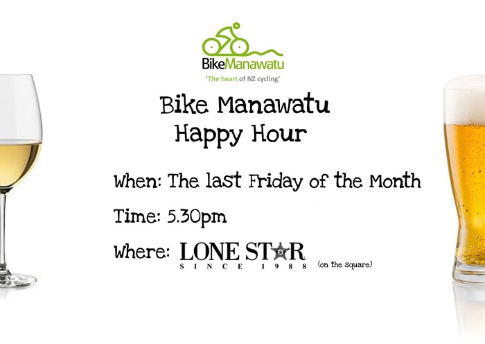 Bike Manawatu Happy Hour