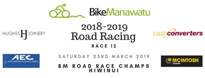 Race 12 road race champs hiwinui