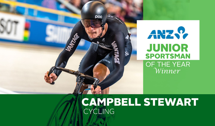 Campbell Stewart Junior Sportsman of the year