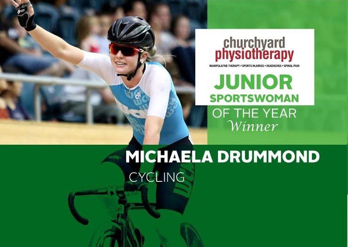 Michaela Drummond Junior Sportswoman of the year
