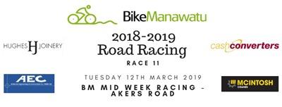 Race 11 Mid week racing akers road