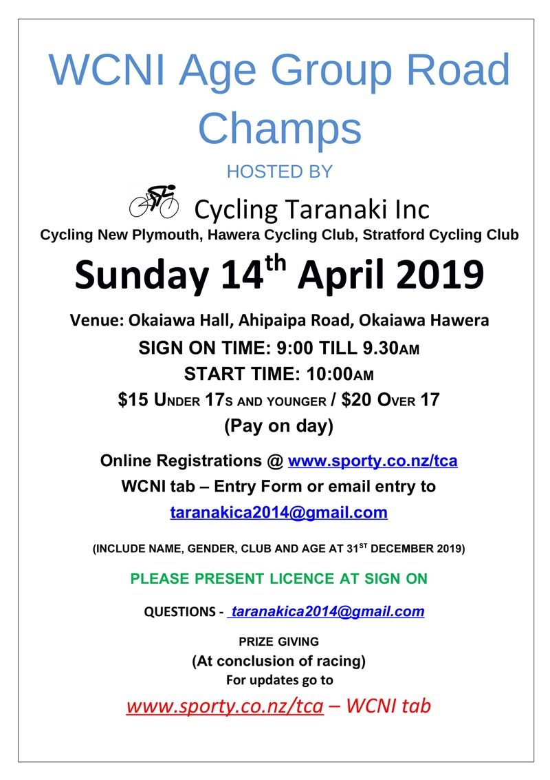 WCNI Road Champs 2019-1