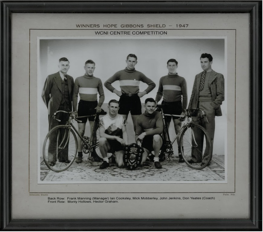 Winners Hope Gibbon Shield 1947 WCNI Centre Comp Monty Hollows