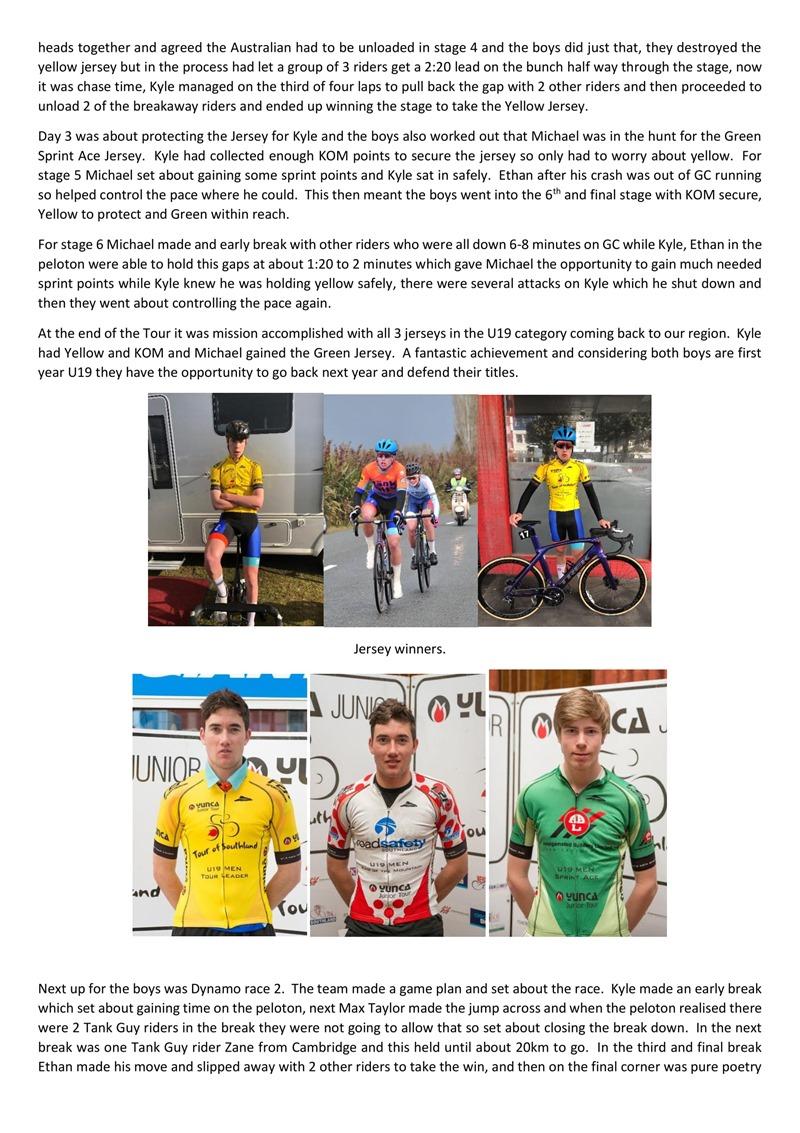 Tank Guy Cycling Development Team Update.-2