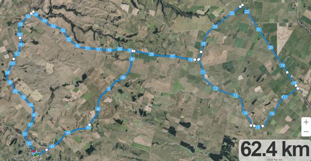 Halcolmbe WCNI 62.4km