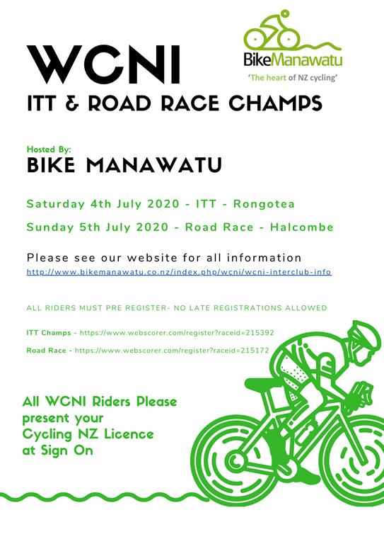 WCNI ITT & RR Champs 4-5 July 2020
